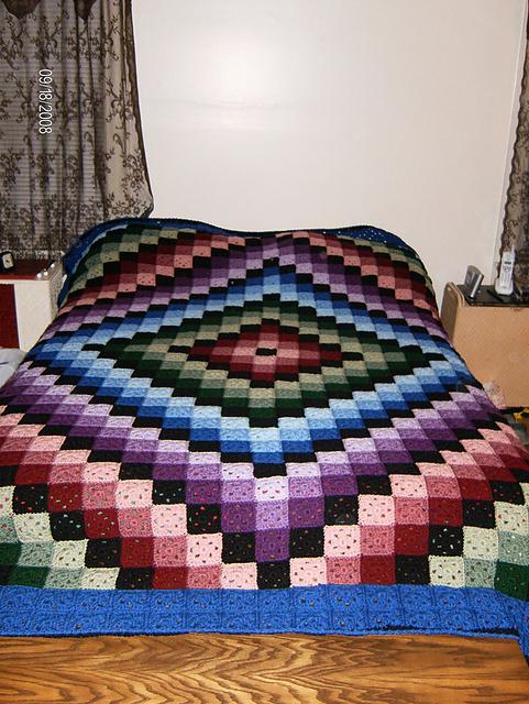 Ravelry Around The World Quilt Pattern By Karen Buhr