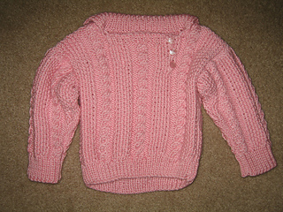 c763c4c60 Ravelry  Cabled Toddler Pullover pattern by Marilyn Losee