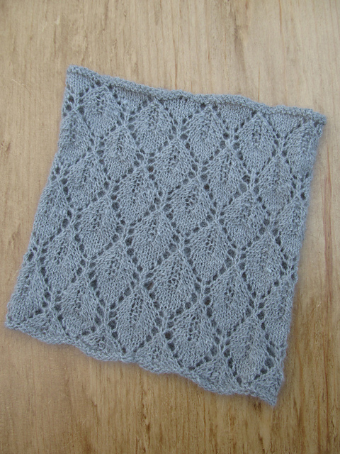 Ravelry Estonian Leaf Lace Cowl Pattern By Evelyn A Clark