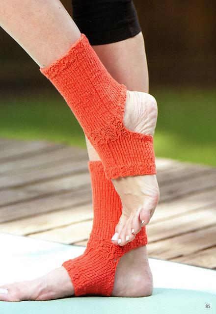 Ravelry Toeless Yoga Socks Pattern By Edie Eckman