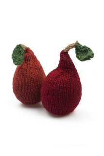 Knitting Patterns For Vegetables And Fruit : Ravelry: French set of fruit and vegetable knitting patterns pattern by Brook...