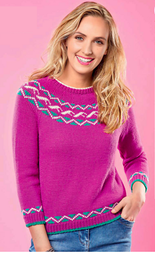 Ravelry the fair isle sweater pattern by penny hill for Penny hill