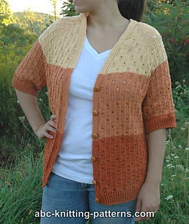 b5e35536a872 Ravelry  Grand Canyon Cardigan pattern by Elaine Phillips