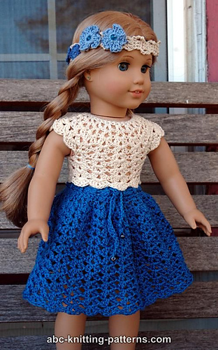 Ravelry American Girl Doll Seashell Summer Top Pattern By Elaine
