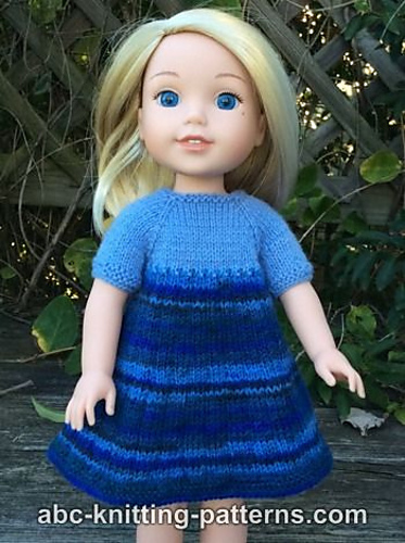 Ravelry: Wellie Wishers Doll Dress and Cardigan pattern by Elaine ...
