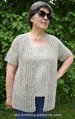 3d5e271362a4 Ravelry  La Loire Summer Cardigan pattern by Elaine Phillips