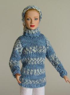 Ravelry Fair Isle Sweater And Headband For Fashion 16