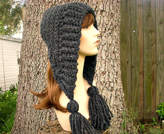 Tassel Hat - Crochet Version pattern by Diane Serviss
