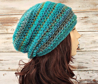 45d535e30bdda1 Ravelry: Penelope Puff Stitch Beret and Slouch pattern by Diane Serviss