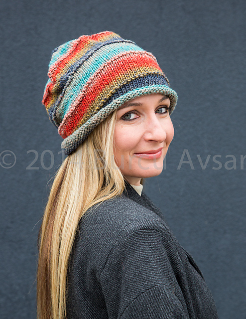 Ravelry Knitted Beanies Slouchy Hats 31 Original Designs To Suit