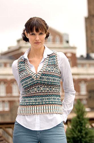 Ravelry: Ivy League Vest pattern by Eunny Jang