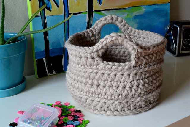 Ravelry Chunky Basket Pattern By Elizabeth Pardue Unique Free Crochet Basket Patterns