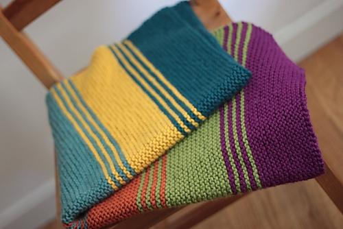 Ravelry Simply Stripes Babylap Blanket Pattern By Elizabeth Smith