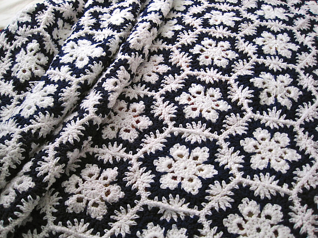 Ravelry Leisure Arts 895 Crocheted Snowflake Afghans Patterns