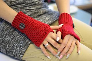 Ravelry Brooklyn Fingerless Mittens Pattern By Crochetdreamz