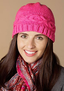 ed9aa2bf8b82 Ravelry  Hugs and Kisses Hat pattern by Heather Lodinsky