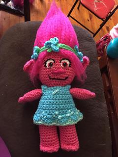 Ravelry Poppy Troll Doll Pattern By Jenna Emerick