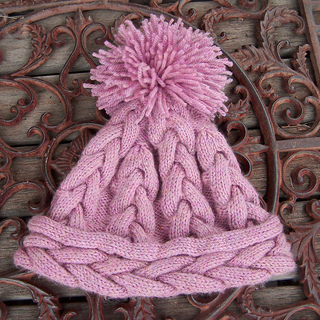 Ravelry  Aran Weight Plaited Cable Beanie pattern by Emily Bieman 66a33d73a516
