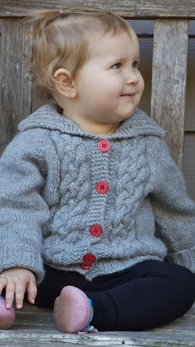 01d9ac045 Ravelry  Seamless Braided Cable Sweater pattern by Christy Hills