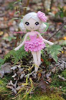 Ravelry Chrysanna The Albino Fairy Crochet Amigurumi Doll