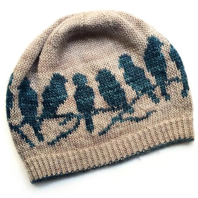 """针织帽子""""雀"""" - maomao - 我随心动"""