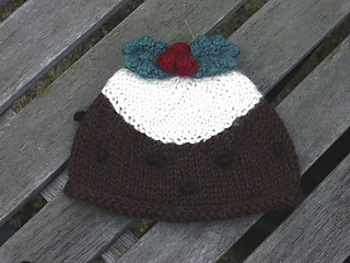 Ravelry  Christmas Pudding Baby Hat pattern by Erssie 67ded2d37b62