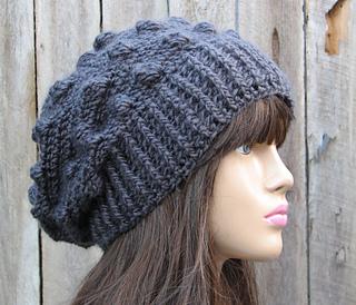 Ravelry  crochet bobble hat pattern by Eva Unger 9d14dee170e