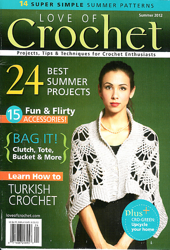 Ravelry Love Of Crochet Summer 2012 Patterns