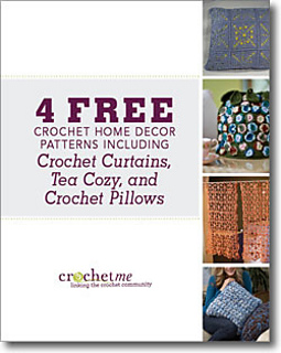 4 Free Crochet Home Decor Patterns