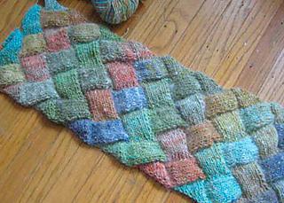 Free Entrelac Knitting Pattern : Ravelry: Entrelac Knitting: How to Knit Entrelac Plus 6 Free Entrelac Knittin...
