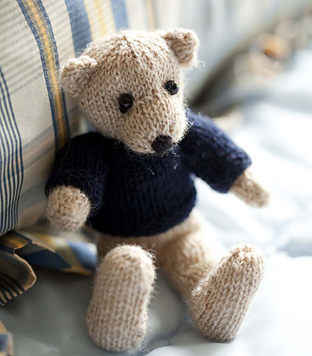 Patternlinks Free Knitting Patterns Children Teddy Bears