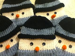 Ravelry  Frosty Hat for the Knifty Knitter pattern by Brenda Myers ... e6e1b960217