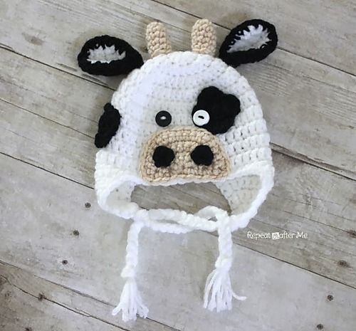 Ravelry: Cow Hat pattern by Sarah Zimmerman