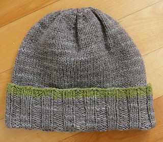 Maine Sea Captain's Hat pattern by Fiber of Maine