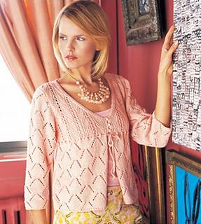 Fiona Ellis Knitting Patterns : Ravelry: #10 Tie-Front Cardi pattern by Fiona Ellis