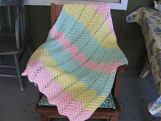 Easy Knitting Pattern For A Baby Blanket
