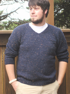 dc2a69fced27 Ravelry    247 V Neck Down Pullover for Men pattern by Diane Soucy