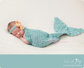Ravelry Crochet Baby Mermaid Tail Set Pattern By Becky Geishert