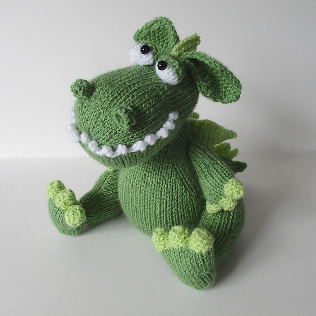 Ravelry Griff The Dragon Pattern By Amanda Berry