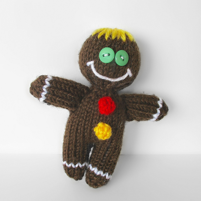 Ravelry Gingerbread Man Pattern By Amanda Berry