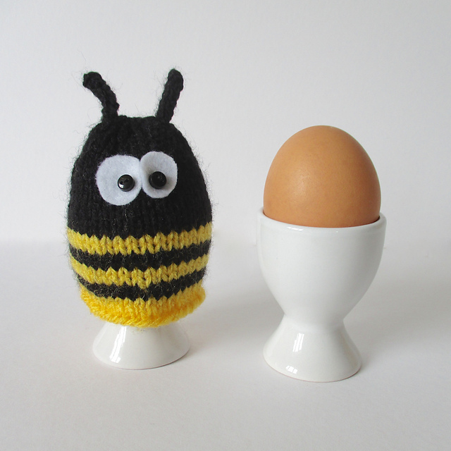 Ravelry Bumble Bee Egg Cosy Pattern By Amanda Berry
