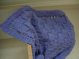 Ravelry Easy Basket Weave Baby Blanket Pattern By Melissa