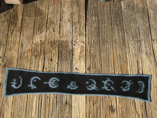 Ravelry Mistborn Allomantic Metals Scarf And Charts Pattern By