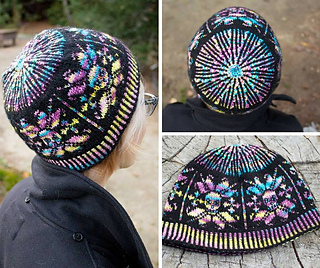 Ravelry  Beaded Skull Hat pattern by Jeanne Giles 77a42558055