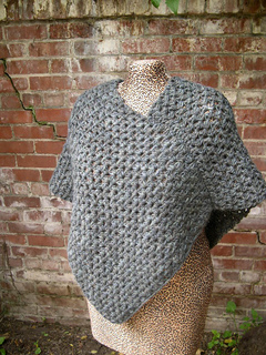 Ravelry: Granite Poncho (Archived) pattern by Marie ...