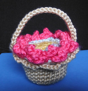 15746d971 Ravelry  Magical Flower Child Flip Flop Basket pattern by Pan Perkins