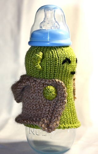 Ravelry Yoda Baby Bottle Cozy Pattern By Gabrielle Th 233 Riault