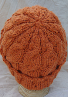 968a0639051 Ravelry  Austin Slouchy Cable Beanie pattern by Gari Lynn