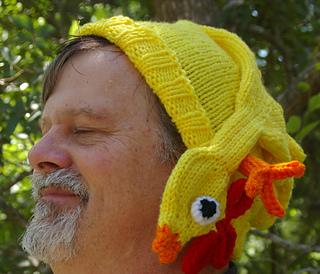 Ravelry Rubber Chicken Hat Pattern By Gari Lynn
