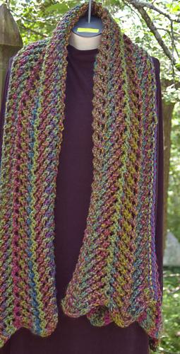 Ravelry Cascada Waterfall Vest Pattern By Gari Lynn